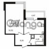 Продается квартира 1-ком 40.15 м² Немецкая улица 1, метро Улица Дыбенко