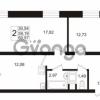 Продается квартира 2-ком 59.19 м² Европейский проспект 1, метро Улица Дыбенко