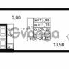 Продается квартира 1-ком 25.26 м² проспект Энергетиков 9, метро Ладожская
