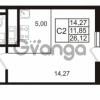 Продается квартира 1-ком 26.12 м² проспект Энергетиков 9, метро Ладожская