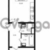 Продается квартира 1-ком 46.24 м² проспект Энергетиков 9, метро Ладожская