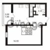 Продается квартира 1-ком 32.99 м² проспект Энергетиков 9, метро Ладожская