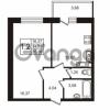 Продается квартира 1-ком 34.76 м² Советский проспект 42, метро Рыбацкое