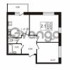 Продается квартира 2-ком 48.69 м² Советский проспект 42, метро Рыбацкое