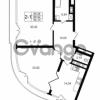 Продается квартира 2-ком 89.42 м² улица Малая Зеленина 1, метро Чкаловская