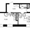 Продается квартира 1-ком 47.87 м² улица Малая Зеленина 1, метро Чкаловская
