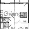 Продается квартира 1-ком 42.2 м² Маршала Блюхера 12АЭ, метро Лесная