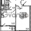 Продается квартира 1-ком 45.1 м² Маршала Блюхера 12АЭ, метро Лесная