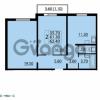 Продается квартира 2-ком 62.4 м² Маршала Блюхера 12АЭ, метро Лесная