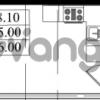Продается квартира 1-ком 25 м² Бестужевская улица 5к 1, метро Лесная