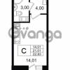 Продается квартира 1-ком 21.01 м² Европейский проспект 14, метро Улица Дыбенко