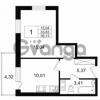 Продается квартира 1-ком 33 м² Европейский проспект 14, метро Улица Дыбенко