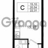 Продается квартира 1-ком 20.54 м² Европейский проспект 14, метро Улица Дыбенко