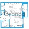 Продается квартира 1-ком 42.61 м² бульвар Александра Грина 1, метро Приморская