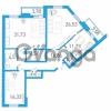 Продается квартира 3-ком 121.16 м² бульвар Александра Грина 1, метро Приморская