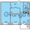 Продается квартира 2-ком 59.2 м² Новая улица 6, метро Девяткино