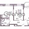 Продается квартира 2-ком 73.29 м² Полевая Сабировская улица 47к 2, метро Пионерская