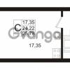 Продается квартира 1-ком 25.78 м² Европейский проспект 1, метро Улица Дыбенко