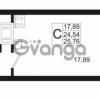 Продается квартира 1-ком 25.76 м² Европейский проспект 1, метро Улица Дыбенко