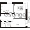 Продается квартира 2-ком 51.34 м² Европейский проспект 1, метро Улица Дыбенко