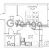 Продается квартира 1-ком 33.91 м² Юнтоловский проспект 53к 4, метро Старая деревня