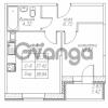 Продается квартира 1-ком 38.84 м² Юнтоловский проспект 53к 4, метро Старая деревня