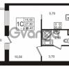 Продается квартира 1-ком 27.81 м² Бестужевская улица 5к 1, метро Лесная