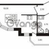 Продается квартира 1-ком 24.21 м² Бестужевская улица 5к 1, метро Лесная