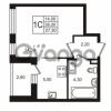 Продается квартира 1-ком 26.01 м² Бестужевская улица 5к 1, метро Лесная