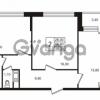 Продается квартира 2-ком 56.61 м² Бестужевская улица 5к 1, метро Лесная