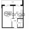 Продается квартира 1-ком 34.25 м² улица Шувалова 1, метро Девяткино