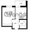 Продается квартира 1-ком 30.83 м² улица Шувалова 1, метро Девяткино