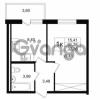 Продается квартира 1-ком 31.28 м² улица Шувалова 1, метро Девяткино
