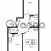 Продается квартира 2-ком 52.55 м² улица Шувалова 1, метро Девяткино