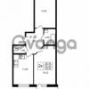 Продается квартира 2-ком 53.3 м² улица Шувалова 1, метро Девяткино