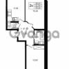 Продается квартира 2-ком 52.54 м² улица Шувалова 1, метро Девяткино