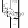 Продается квартира 2-ком 53.09 м² улица Шувалова 1, метро Девяткино