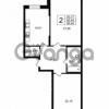Продается квартира 2-ком 85.46 м² Приморский проспект 52, метро Старая деревня
