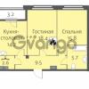 Продается квартира 2-ком 66.7 м² улица Кременчугская 13к А, метро Площадь Восстания