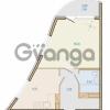 Продается квартира 1-ком 40.59 м² Таможенная дорога 1, метро Старая деревня
