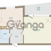 Продается квартира 1-ком 43.13 м² Таможенная дорога 1, метро Старая деревня
