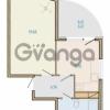 Продается квартира 1-ком 43.49 м² Таможенная дорога 1, метро Старая деревня
