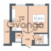 Продается квартира 1-ком 36.41 м² Дунайский проспект 7, метро Звёздная