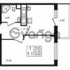 Продается квартира 1-ком 31.45 м² проспект Строителей 1, метро Улица Дыбенко
