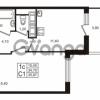 Продается квартира 1-ком 34.7 м² проспект Строителей 1, метро Улица Дыбенко