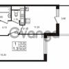 Продается квартира 1-ком 34.45 м² проспект Строителей 1, метро Улица Дыбенко