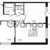 Продается квартира 2-ком 50.15 м² проспект Строителей 1, метро Улица Дыбенко
