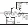 Продается квартира 2-ком 52.26 м² улица Пионерстроя 27, метро Проспект Ветеранов