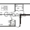 Продается квартира 2-ком 59.08 м² улица Пионерстроя 27, метро Проспект Ветеранов