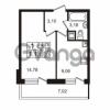 Продается квартира 1-ком 30.12 м² Немецкая улица 1, метро Улица Дыбенко